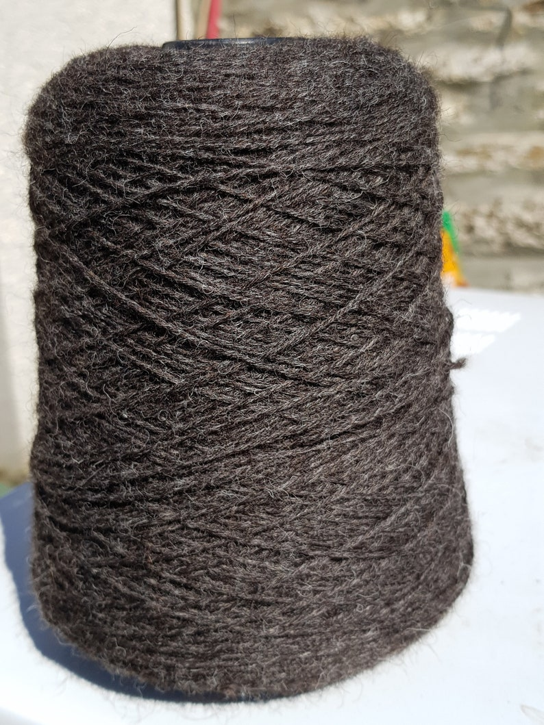 Gansey Yarn 5ply naturaly coloured 100% wool from ethicaly 400 g
