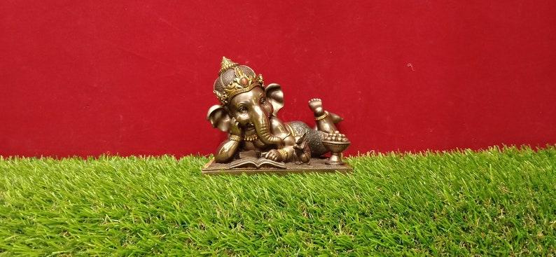 4 7 inches, Ganesh Statue, Baby Ganesha Statue, Lord Ganesh Statue, Fine  Work, Puja Item, Religious Gift, Hindu God, Spiritual Gift