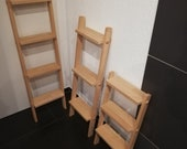 Flower staircase wood, deco ladder wood, flower stand wood, towel holder wood,wood ladder,ladder shelf plant staircase,