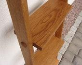 flower ladder, flower ladder, flower stand, towel holder oak, wooden ladder, ladder oak, plant staircase, oak