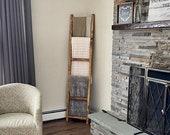 Blanket Ladder, Wooden Blanket ladder, Storage, Towel Rack, 4ft, 5ft, 6ft, 7ft