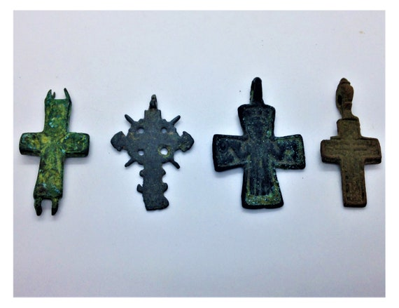 Ancient Medieval To Post Medieval Cross Crucifix C