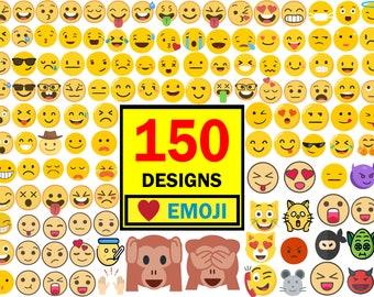 emoji svg, emoji bundle svg, emoji face svg, emoji clipart,emoji cut file, smiley face svg, emoji download, emoji cricut, emoji silhouette