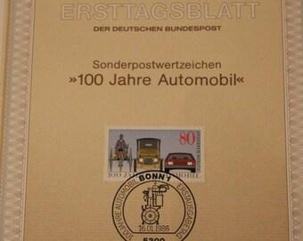Vintage German postcards