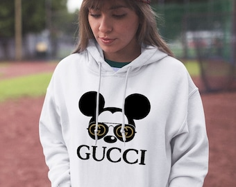 3243cd50573 Disney Mickey Mouse Gucci Champion Hoodie Vintage Fashion Hipster Hoodies  Clothes Tumblr Gift Gang Shirt All Sizes Unisex Sweatshirt CO1018