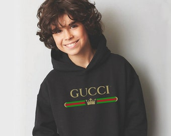 d07893d344327c Gucci Inspired Hoodie Fashion Gift For Her Him Birthday Present Unisex Teen  Clothing Baby Gucci Girl Kids Sweatshirt Disney CO1073