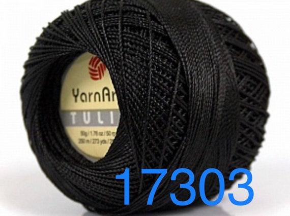 Silky Weight Size 0 BEIGE Tulip YarnArt Microfiber Crochet Thread Size 10