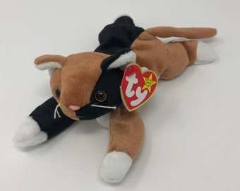 16c6b78cd3d TY Beanie Baby - CHIP the Calico Cat