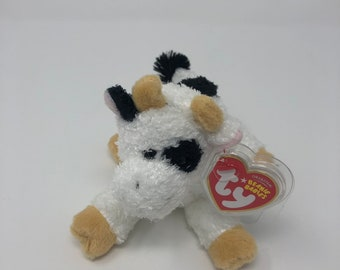 TY Beanie Baby - CORNSTALK the Cow d5603e96ab08