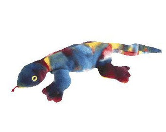 364b9b329d8 TY Beanie Buddy - LIZZY the Ty-Dyed Lizard (21 inch)