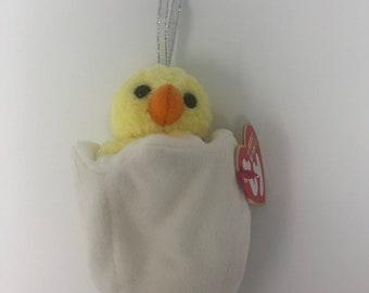 TY Basket Beanie Baby - EGGBERT the Chick aeade746c572