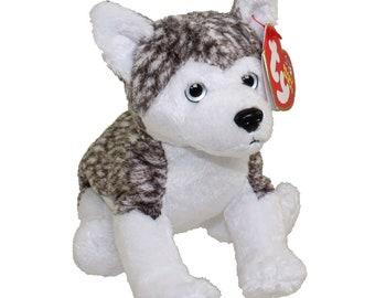 facd03e693f TY Beanie Baby - MUKLUK the Husky Dog (white eyes) (5.5 inch)
