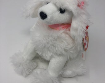 7b0fef9d6e3 TY Beanie Baby - L AMORE the Poodle Dog (6 inch)