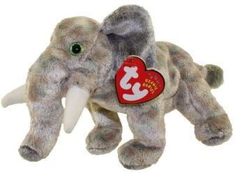 070852ea299 TY Beanie Baby - POUNDS the Elephant (7 inch)