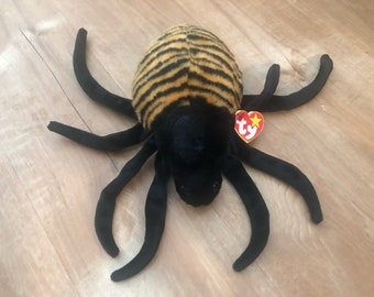 9229d5d5ed5 TY Beanie Buddy - SPINNER the Spider (11.5 inch)