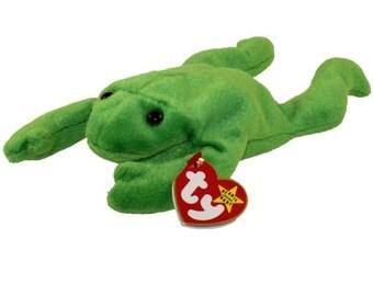 7a9da0e4984 TY Beanie Baby - LEGS the Frog (9 inch)