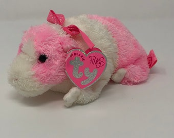 f5dda33fc24 TY Pinkys - ROSA the Pink   White Guinea Pig