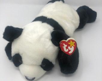 b2e09c2f688 TY Beanie Buddy - PEKING the Panda Bear (14 inch)