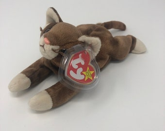c032016f564 TY Beanie Baby - POUNCE the Cat