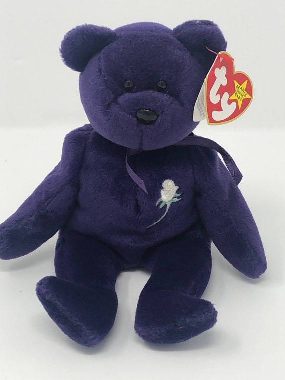 757bdc3353f TY Beanie Baby PRINCESS the Bear 8.5 inch