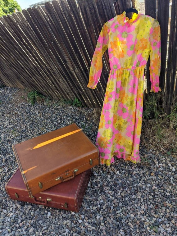 Flower Power Vintage Dress