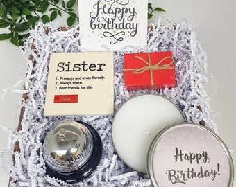 Personalized Birthday Gift For Her Sister Best Ever Box Friend