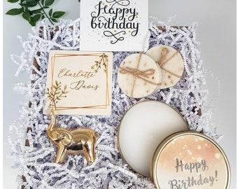 Personalized Gift Birthday Mom Best Friend Set For Women Basket Box Girlfriend