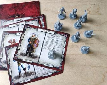 Talisman 4th Game Miniatures Figures Board Game