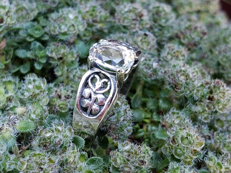 White topaz ring!!