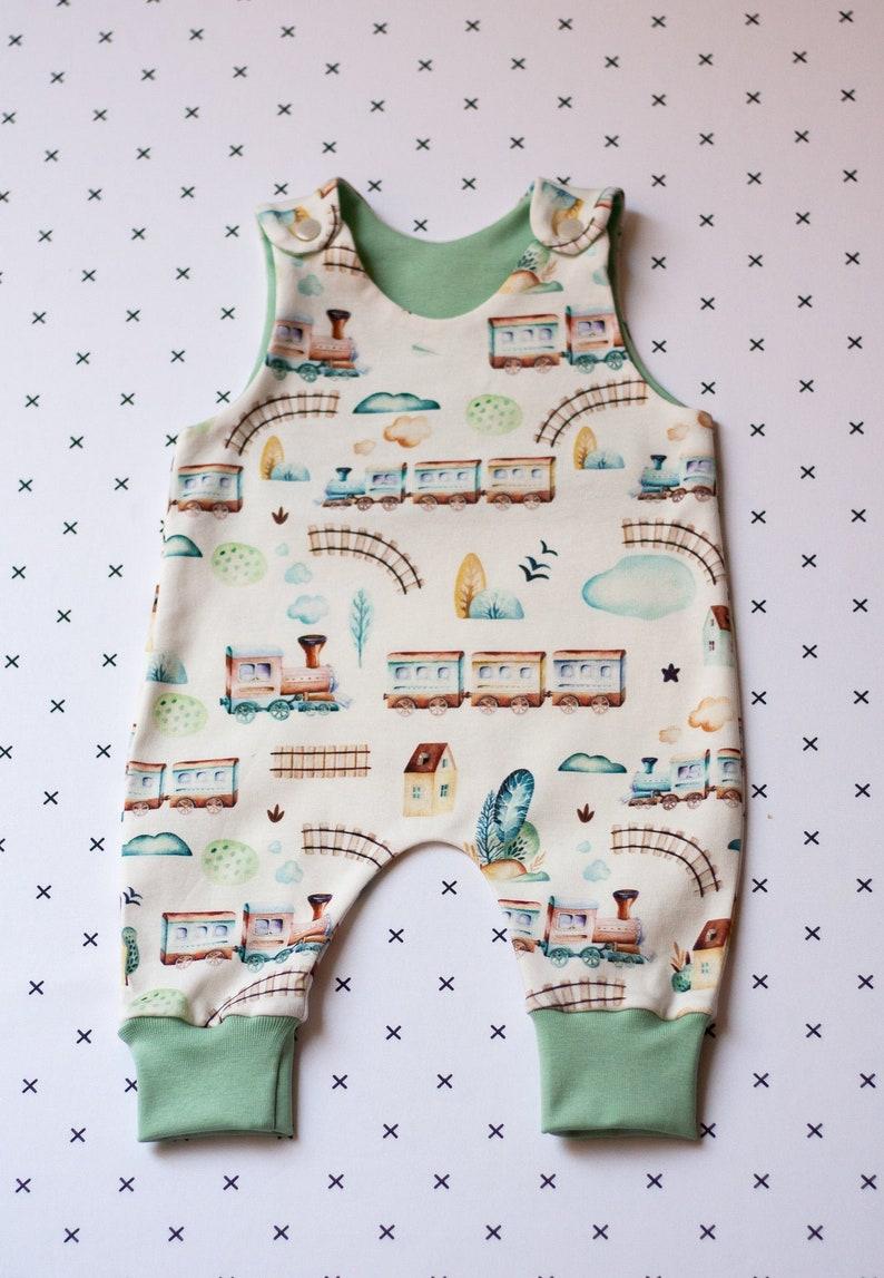 28242bc7eedd4 Train Baby boy romper. Earth tones Baby Clothes Unisex. Newborn Baby girl  gift. Gender neutral baby clothes.