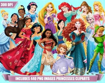 disney princess clipart 440 png images 732eded234cb