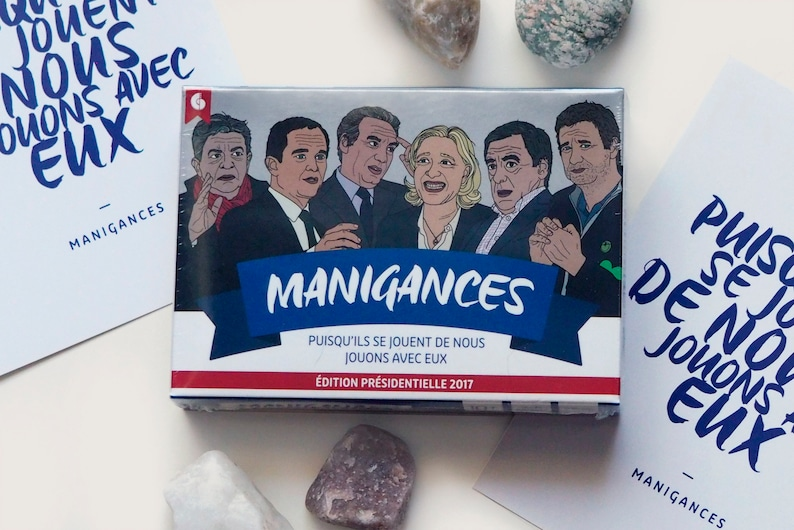 ManIGANCES French Political Card Game for the whole family image 0