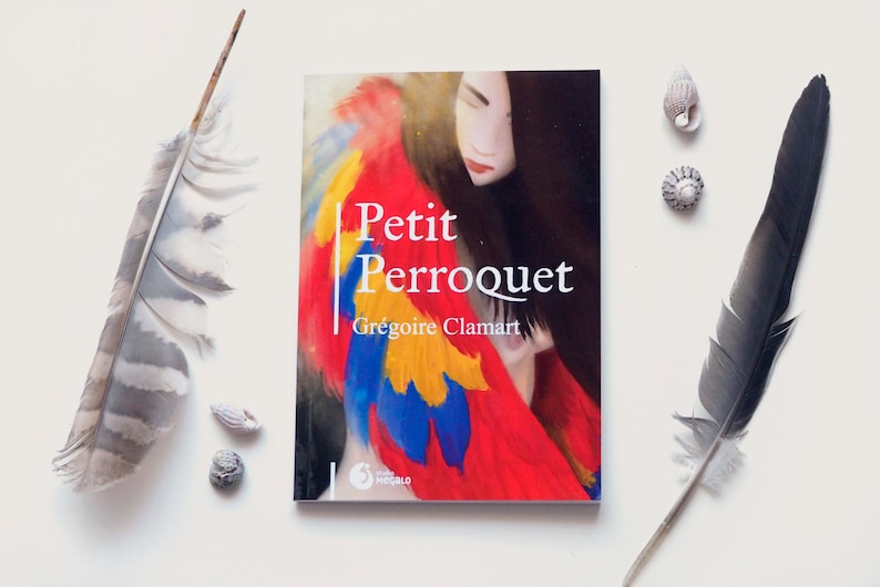 Pocket book Roman Petit Parrot in French for young adults image 0