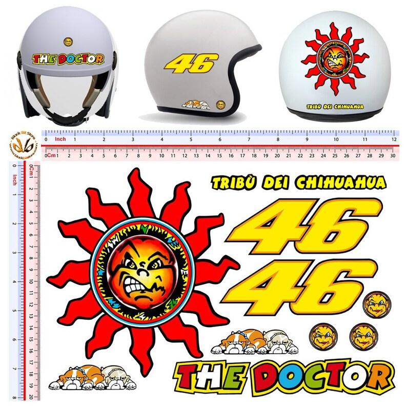 Helm Aufkleber Nr 46 Stamm Chihuahua Sonnenschein Auto Moto Helm Aufkleber Den Arzt Sun Helm Aufkleber Tuning 10 Stk