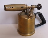 Vintage Bronze Blow Torch from France, model Express No 46