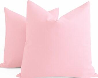 Blush Cotton Pillow Cover 12 4a36f2c28a