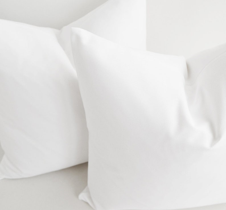 COTTON Pillow Covers,Custom pillow covers,12x20,12 x 18,14x36,16 x 16,18 x 18,20 x 20,22 x 22,24 x 24,26 x 26,Off white pillow white pillow