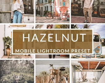 Mobile Lightroom Presets, Hazelnut Preset, Blogger Presets, Instagram Presets, Photo Editing, Christmas Presets