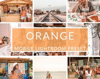 Mobile Lightroom Presets, Orange Preset, Blogger Presets, Instagram Presets, Photo Editing, Christmas Presets