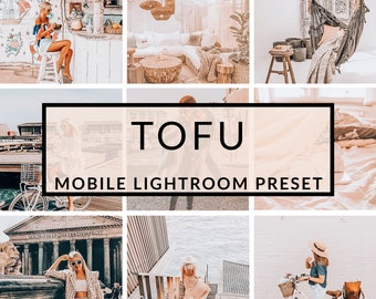 Mobile Lightroom Presets, Tofu Preset, Blogger Presets, Instagram Presets, Photo Editing, Christmas Presets