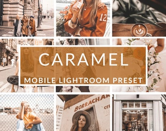 Mobile Lightroom Presets, Caramel Preset, Blogger Presets, Instagram Presets, Photo Editing, Christmas Presets