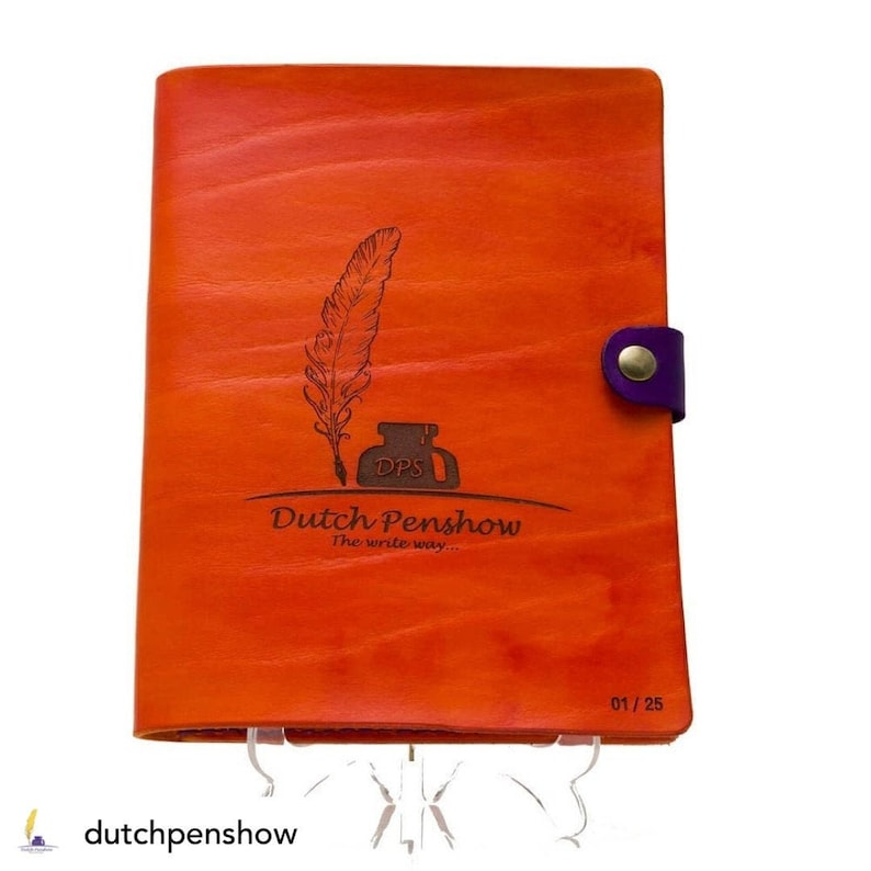 Special Dutch Pen Show edition A5 cover limited and numbered image 0