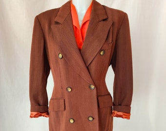 Vintage Kenzo Paris double breasted trench coat