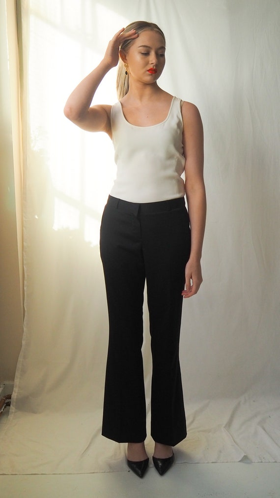 Vintage Burberry flared trousers