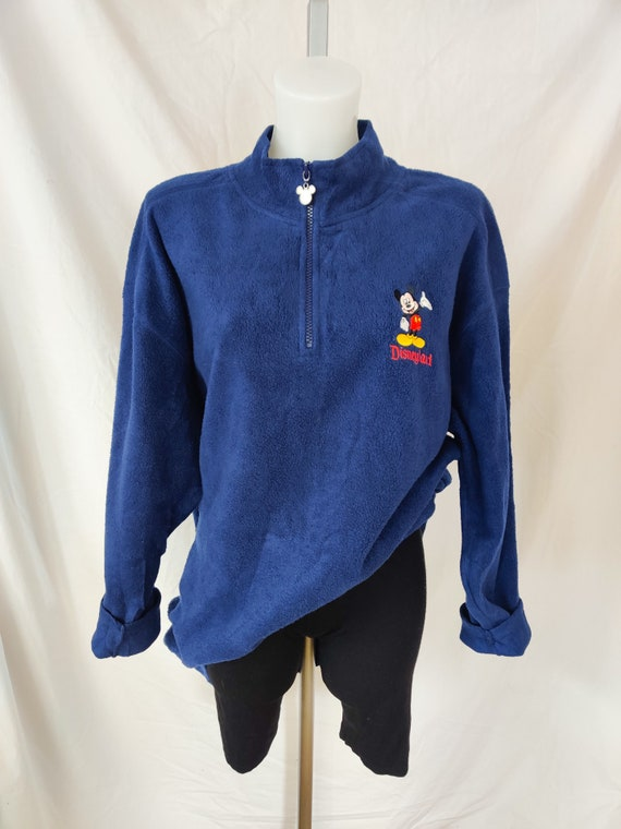 Vintage Disney quarter zip fleece
