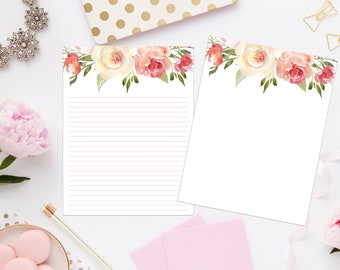 graphic regarding Printable Stationeries named Printable stationery Etsy