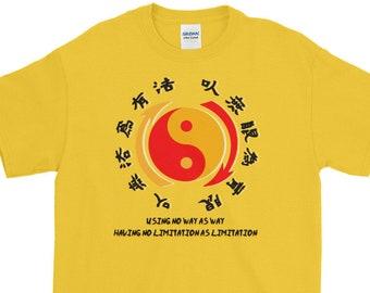 Using No Way As Way ... Short-Sleeve T-Shirt by Black Phoenix JKD