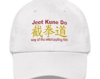 "Dad Hat by Black Phoenix JKD 2020 ""Jeet Kune Do"" with Cantonese Characters interpretation"