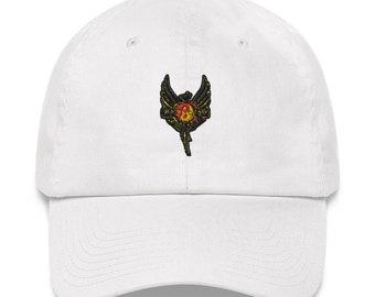 """Dad Hat by Black Phoenix JKD 2020 """"Black Phoenix Jeet Kune Do Phoenix Logo"""""""
