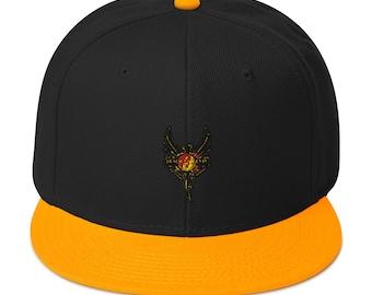 """Snapback Hat by Black Phoenix JKD 2020 """"Black Phoenix Jeet Kune Do Phoenix Logo"""""""